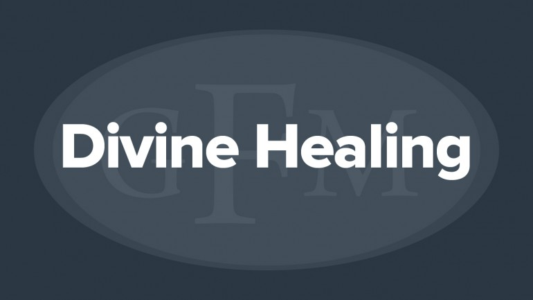 Divine Healing: A Study in the Scriptures - Diane Dew