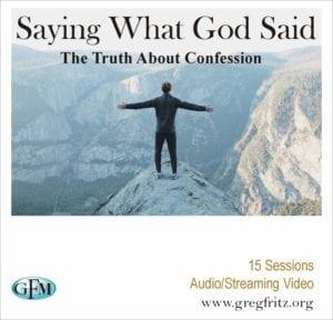Saying What God Said album art
