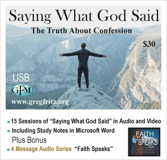 Saying What God Said USB bundle album art